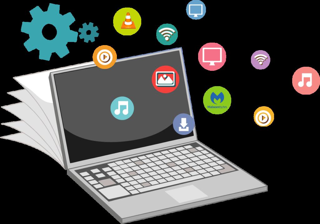 instalacion de programas básicos para PC