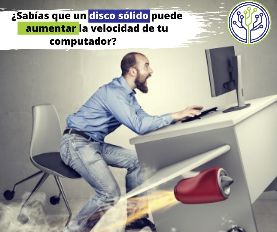 Usa un disco sólido para aumentar la velocidad de tu computador