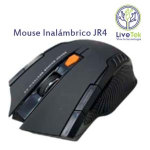 Mouse inalámbrico Jertech JR4 frontal