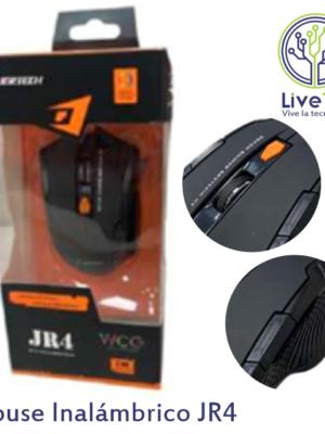 Mouse inalámbrico Jertech JR4 en caja