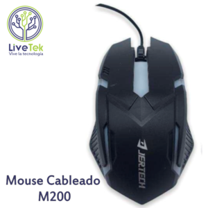 Mouse cableado Jertech M200 vertical