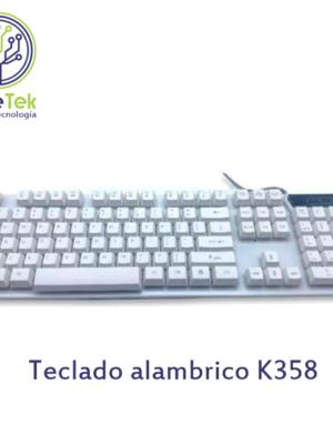 Teclado cableado marca JERTECH K358